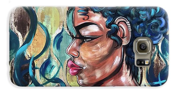 Galaxy S6 Case - She Was A Cool Flame by Artist RiA