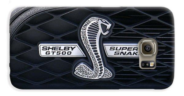 Garden Snake Galaxy S6 Case - Shelby Gt 500 Super Snake by Mike McGlothlen
