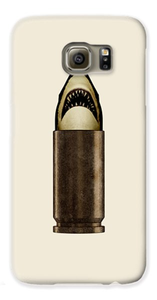 Shell Shark Galaxy S6 Case by Nicholas Ely