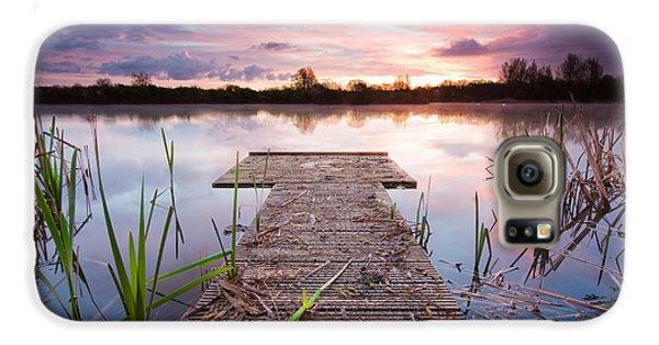Shinewater Lake Sunrise Galaxy S6 Case