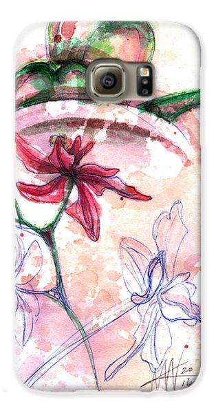 Shiraz Orchid II Galaxy S6 Case