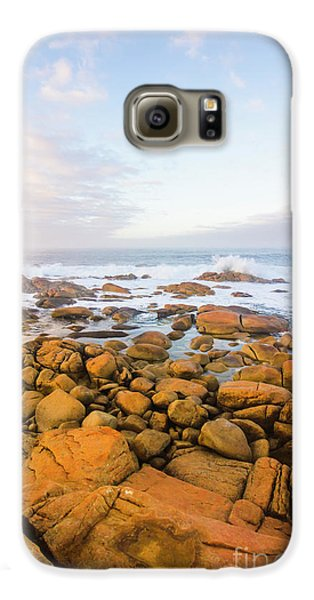 Galaxy S6 Case featuring the photograph Shore Calm Morning by Jorgo Photography - Wall Art Gallery