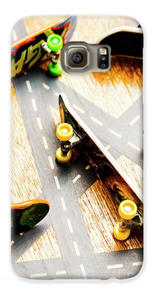 Truck Galaxy S6 Case - Side Streets Of Skate by Jorgo Photography - Wall Art Gallery