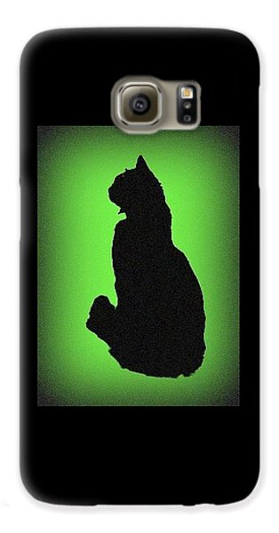 Galaxy S6 Case featuring the photograph Silhouette by Karen Shackles