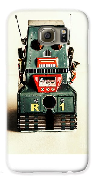 Simple Robot From 1960 Galaxy S6 Case