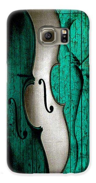 Violin Galaxy S6 Case - Sinful Violin by Greg Sharpe