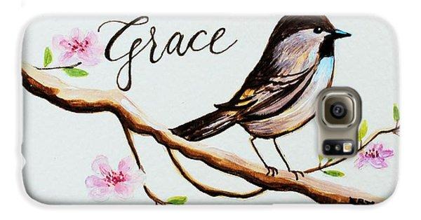 Garden Galaxy S6 Case - Sing Grace by Elizabeth Robinette Tyndall