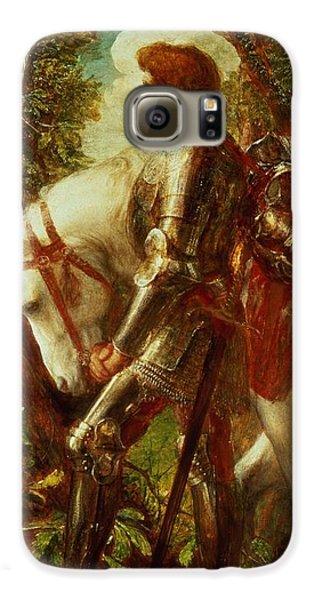 Fantasy Galaxy S6 Case - Sir Galahad by George Frederic Watts
