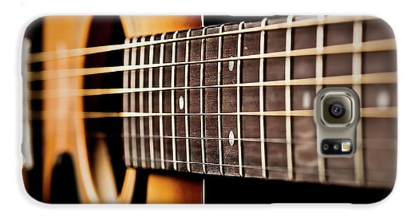 Six String Guitar Galaxy S6 Case by  Onyonet  Photo Studios