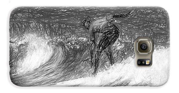 Sketch A Wave Galaxy S6 Case