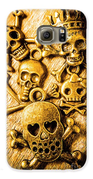 Galaxy S6 Case featuring the photograph Skulls And Crossbones by Jorgo Photography - Wall Art Gallery