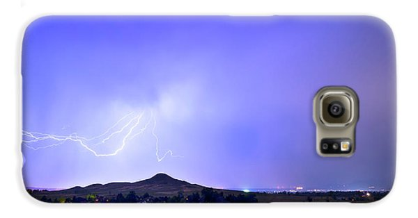 Galaxy S6 Case featuring the photograph Sky Monster Above Haystack Mountain by James BO Insogna