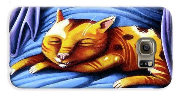 Sleeping Kitty Galaxy S6 Case