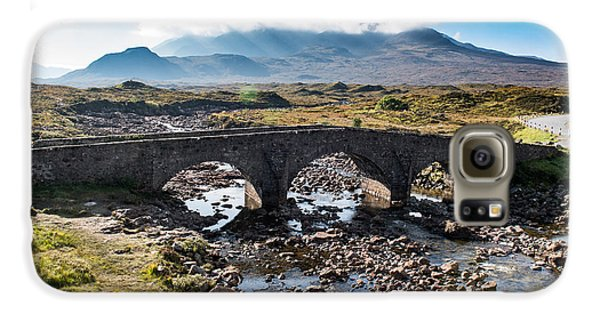 Galaxy S6 Case featuring the photograph Skye Cuillin From Sligachan by Gary Eason