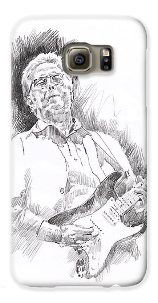 Slowhand Galaxy S6 Case by David Lloyd Glover