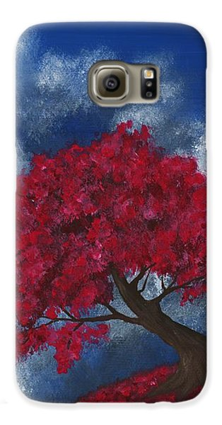 Galaxy S6 Case featuring the painting Small World by Anastasiya Malakhova