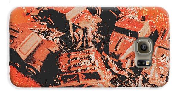 Truck Galaxy S6 Case - Smashem Crashem Cars by Jorgo Photography - Wall Art Gallery