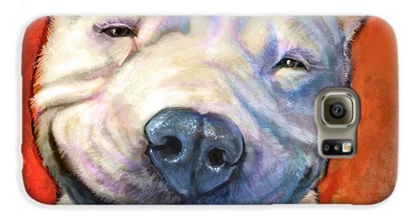 Bull Galaxy S6 Case - Smile by Sean ODaniels
