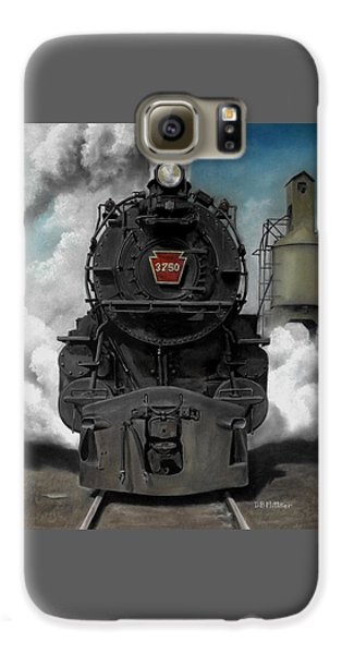 Transportation Galaxy S6 Case - Smoke And Steam by David Mittner