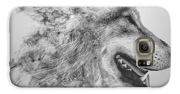 Smokey Wolf Galaxy S6 Case