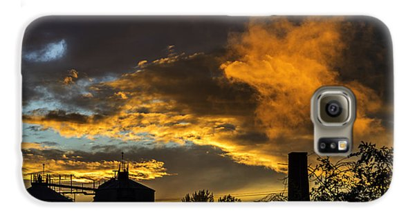 Galaxy S6 Case featuring the photograph Smoky Sunset by Jeremy Lavender Photography