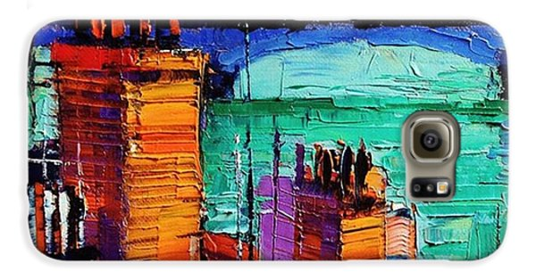 Architecture Galaxy S6 Case - Sneak Peek Close-up Of A New by Mona Edulesco