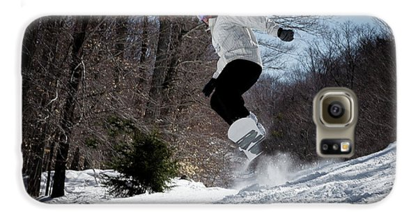 Galaxy S6 Case featuring the photograph Snowboarding Mccauley Mountain by David Patterson