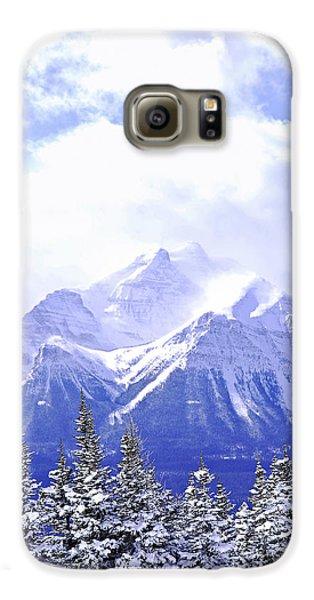 Mountain Galaxy S6 Case - Snowy Mountain by Elena Elisseeva