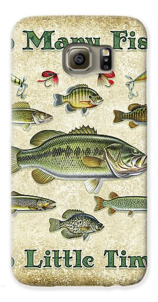 So Many Fish Sign Galaxy S6 Case by JQ Licensing