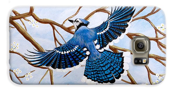 Soaring Blue Jay  Galaxy S6 Case