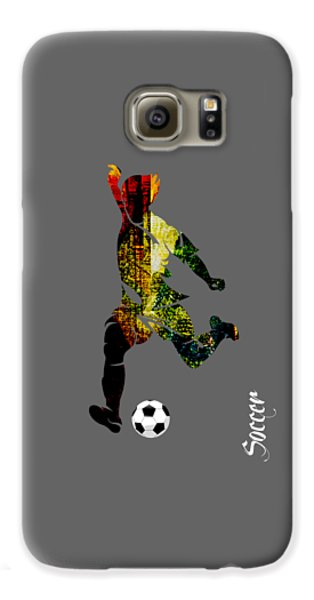 Soccer Collection Galaxy S6 Case by Marvin Blaine