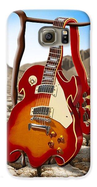 Music Galaxy S6 Case - Soft Guitar II by Mike McGlothlen