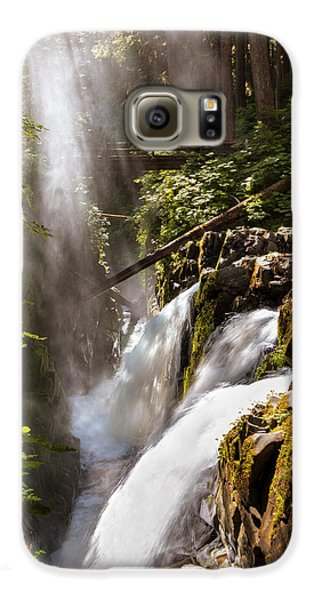 Galaxy S6 Case featuring the photograph Sol Duc Falls by Adam Romanowicz