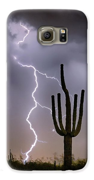 Galaxy S6 Case featuring the photograph Sonoran Desert Monsoon Storming by James BO Insogna