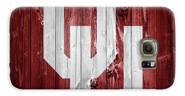 Sooners Barn Door Galaxy S6 Case by Dan Sproul