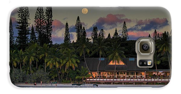 South Pacific Moonrise Galaxy S6 Case