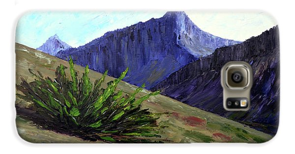 South Side Of O'malley Peak Galaxy S6 Case