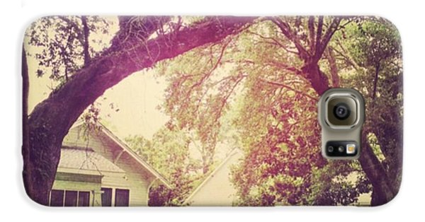 House Galaxy S6 Case - Southern Home #house  #coastalbeauty by Joan McCool