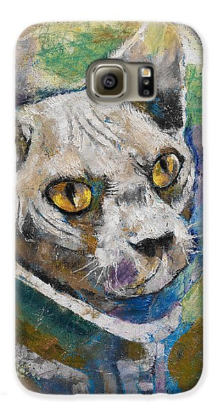 Space Cat Galaxy S6 Case