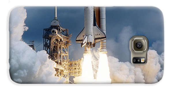 Space Shuttle Launching Galaxy S6 Case by Stocktrek Images