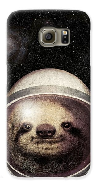 Space Sloth Galaxy S6 Case