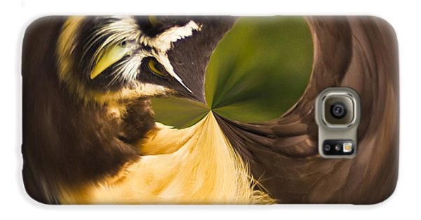 Galaxy S6 Case featuring the photograph Spectacled Owl Orb by Bill Barber