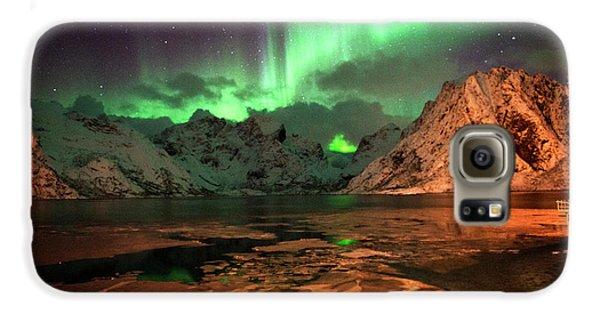 Spectacular Night In Lofoten 1 Galaxy S6 Case