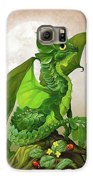 Spinach Dragon Galaxy S6 Case by Stanley Morrison