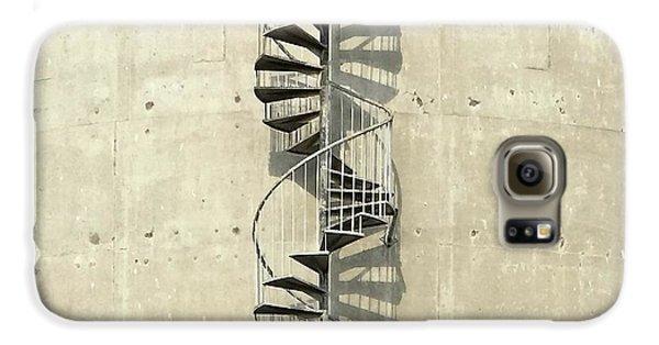 Galaxy S6 Case - Spiral Staircase by Julie Gebhardt