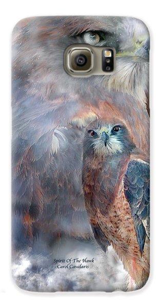 Spirit Of The Hawk Galaxy S6 Case by Carol Cavalaris
