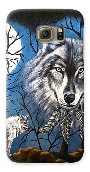 Spirit Wolf Galaxy S6 Case