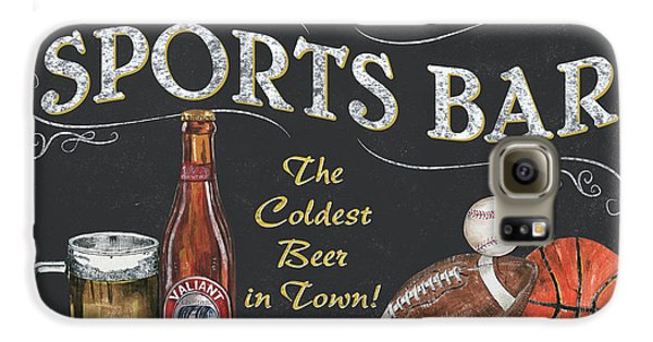 Sports Bar Galaxy S6 Case by Debbie DeWitt