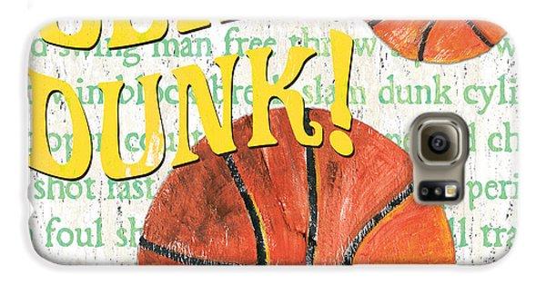 Sports Fan Basketball Galaxy S6 Case by Debbie DeWitt