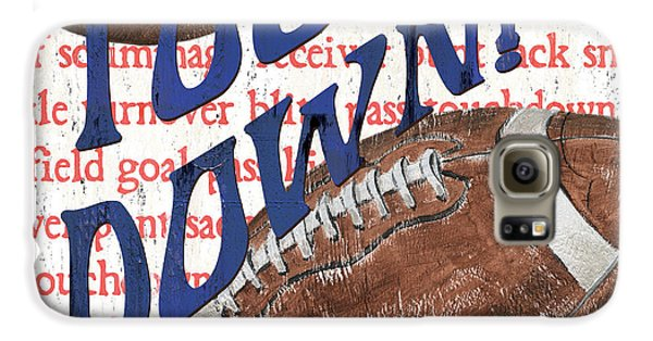 Sports Fan Football Galaxy S6 Case by Debbie DeWitt
